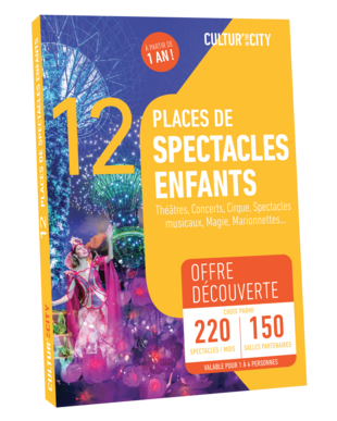 12 places Spectacles pour Enfants Découverte (Cultur'In The City)