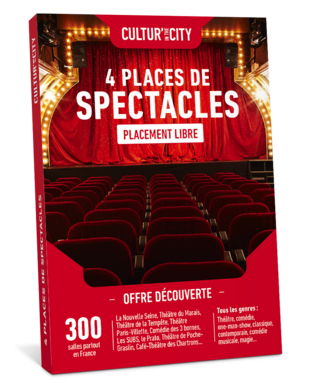 4 places de Spectacles Découverte (Cultur'In The City)