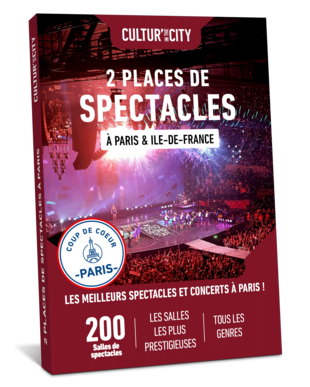 2 places de Spectacles & Concerts à Paris (Cultur'In The City)