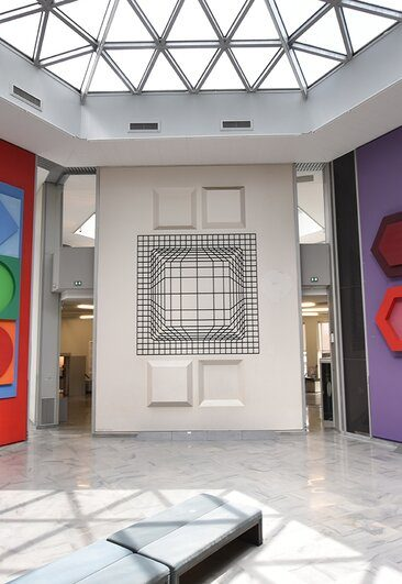 Fondation Vasarely - Collections Permanentes  (Fondation Vasarely )