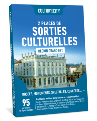 2 Places Sorties Culturelles Grand-Est  (Cultur'In The City)