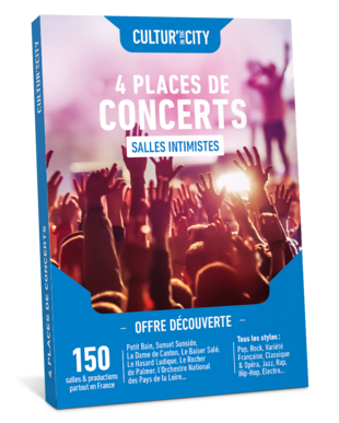 4 places de Concerts Découverte (Cultur'In The City)