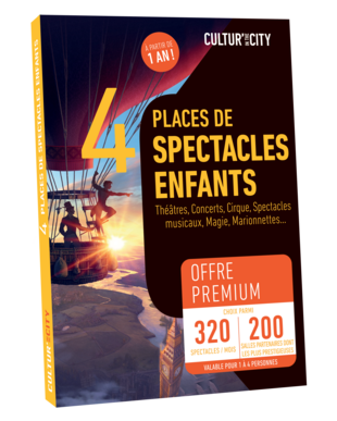 4 places Spectacles pour Enfants Premium (Cultur'In The City)