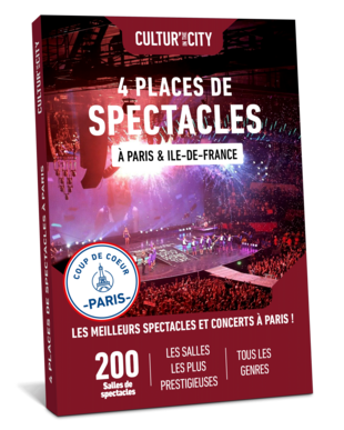 4 places de Spectacles & Concerts à Paris (Cultur'In The City)