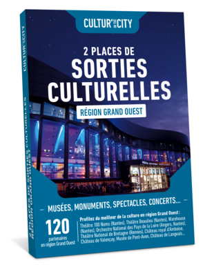 2 Places Sorties Culturelles Grand-Ouest (Cultur'In The City)