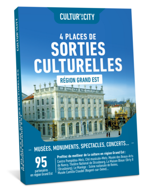4 Places Sorties Culturelles Grand-Est  (Cultur'In The City)