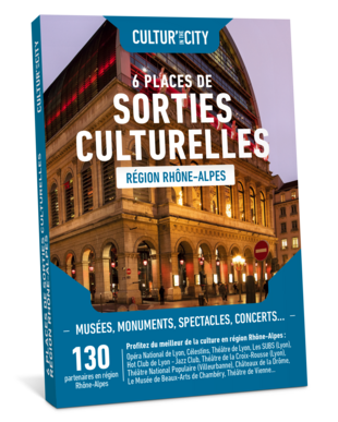 6 Places Sorties Culturelles Rhône-Alpes (Cultur'In The City)
